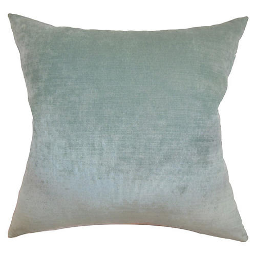 Lawrence Pillow, Aqua Velvet
