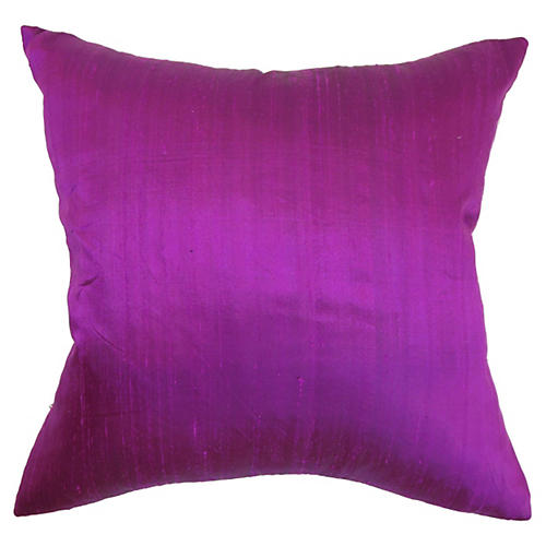 Lawrence Pillow, Magenta Velvet