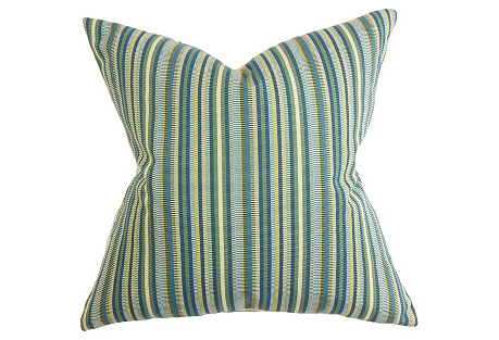 Dexter 18x18 Pillow, Indigo