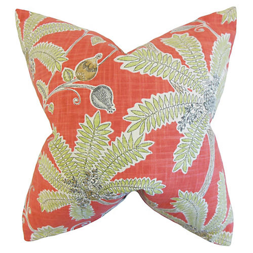Yahor 20x20 Pillow, Coral