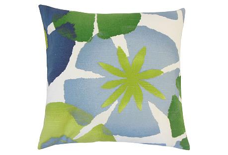 Jay Cotton Pillow, Green