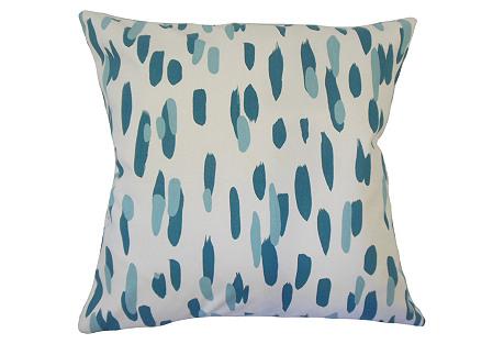 Alexis Cotton Pillow, Blue