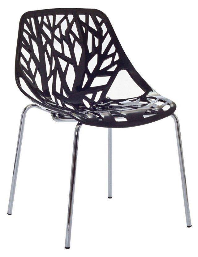 DNU, IK-*R Worby Chair, Black