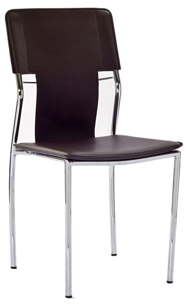 *IK Griswold Chair, Chocolate