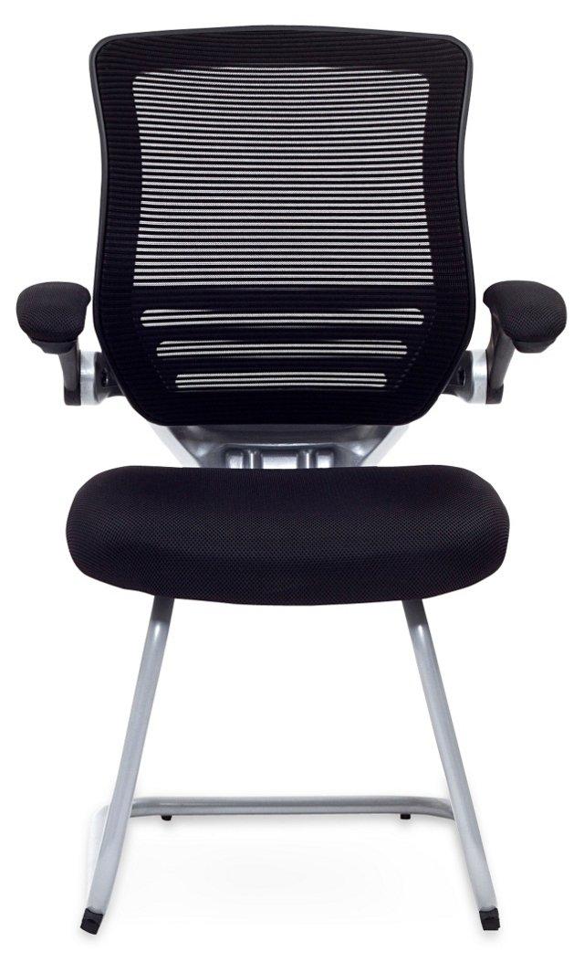 Frances Office Chair, Black