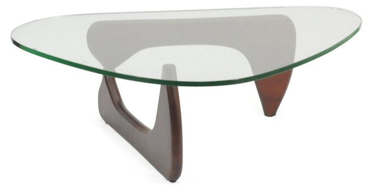 DNU, IK-Triangle Coffee Table, Cherry