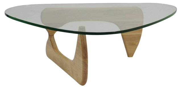 *IK Triangle Coffee Table, Natural