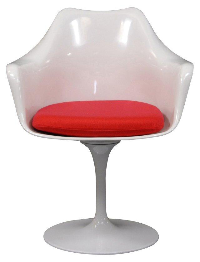 *IK Lippa Armchair, Red