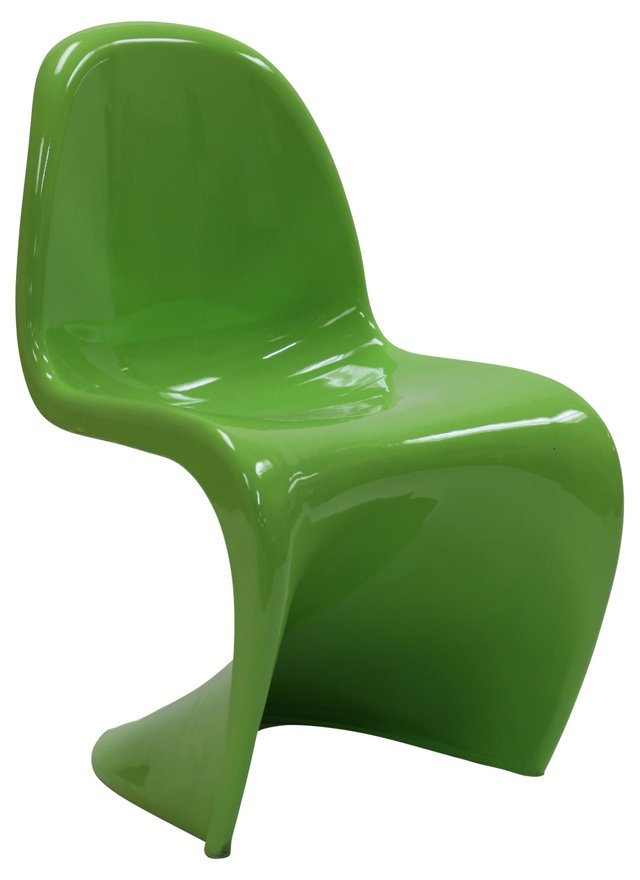 *IK Slither Chair, Glossy Green