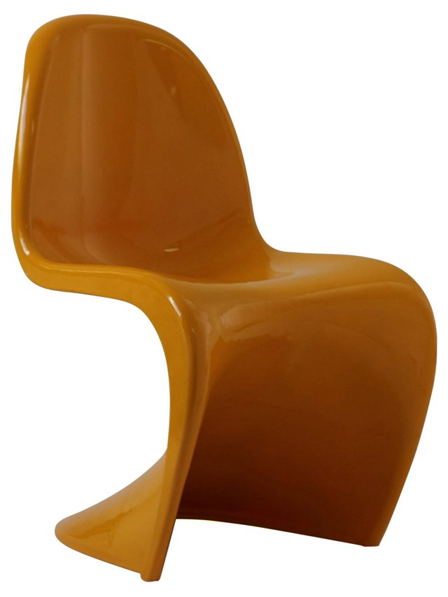 DNU, IK-Slither Chair, Mustard