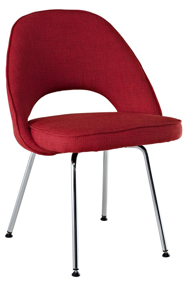 Cordelia Side Chair, Red