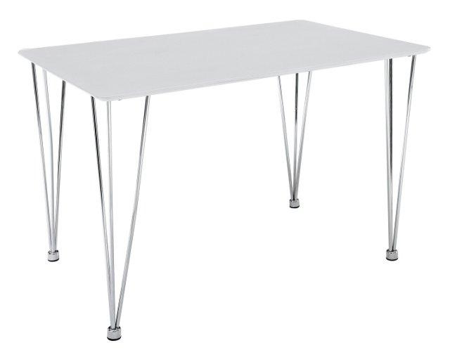 Ruppert Dining Table, White