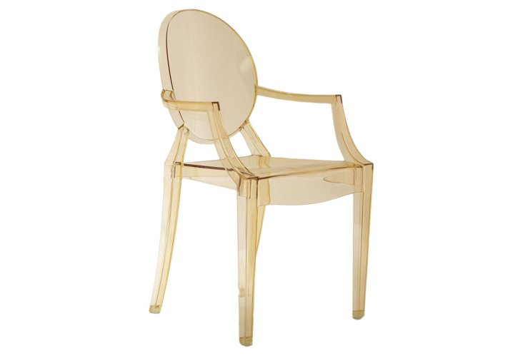 *IK Casper Armchair, Golden Yellow