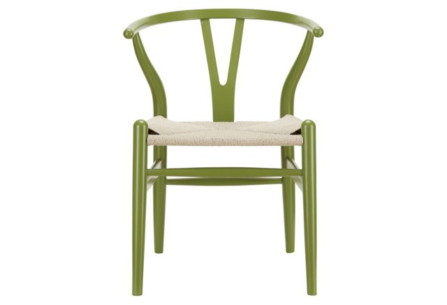 *IK Amish Chair, Green