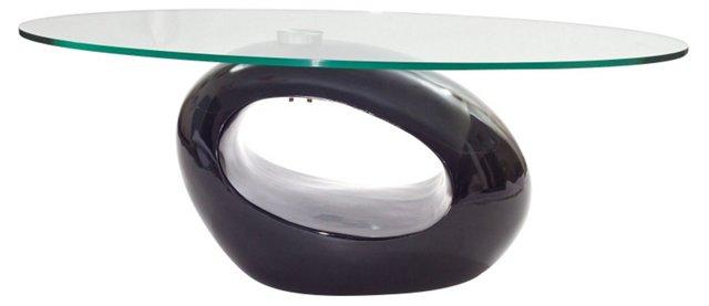 *IK Omega Coffee Table, Black