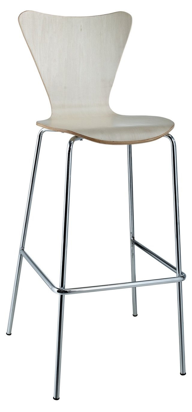 DNU, IK-Ernie Barstool Chair, Natural