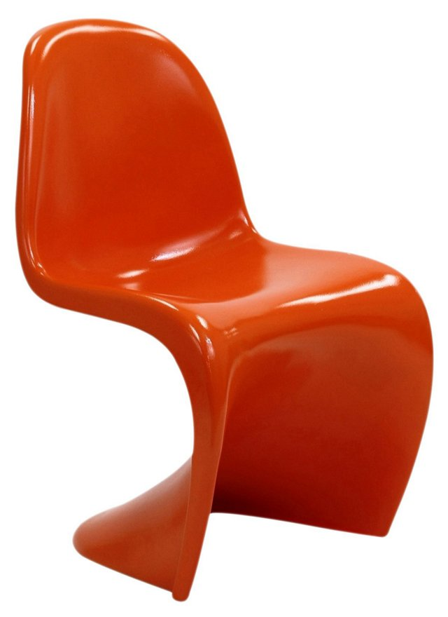 DNU, IK-Slither Chair, Glossy Orange