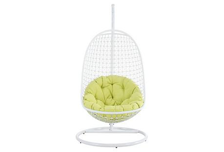 Patio Swing Chair, Green