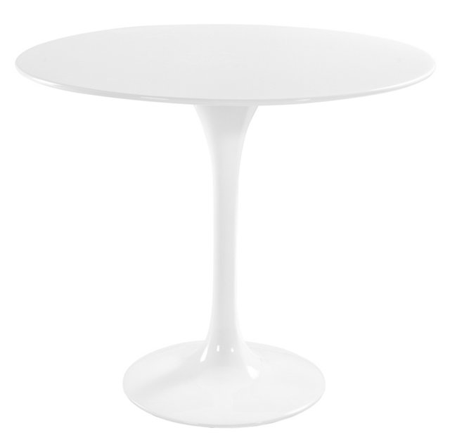 Lippa Dining Table, White