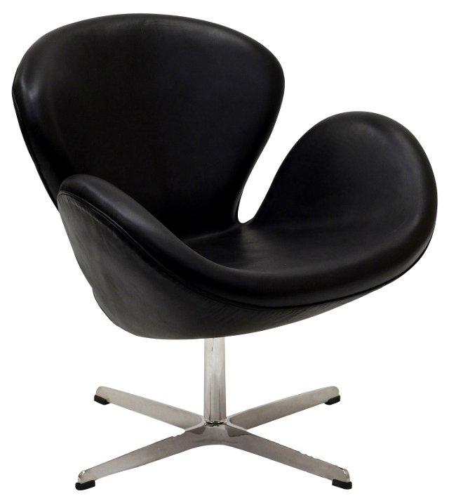 DNU, IK-Mott Wing Chair, Black