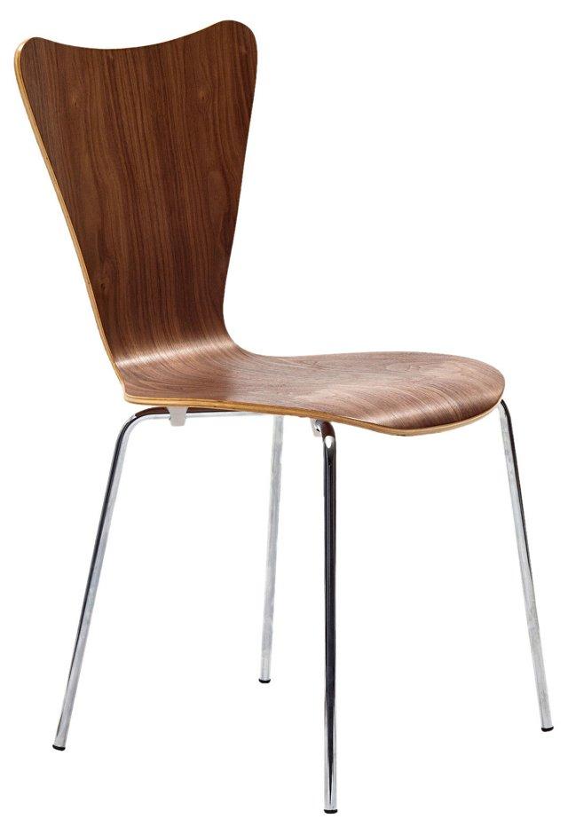 *IK Ernie Chair,Walnut