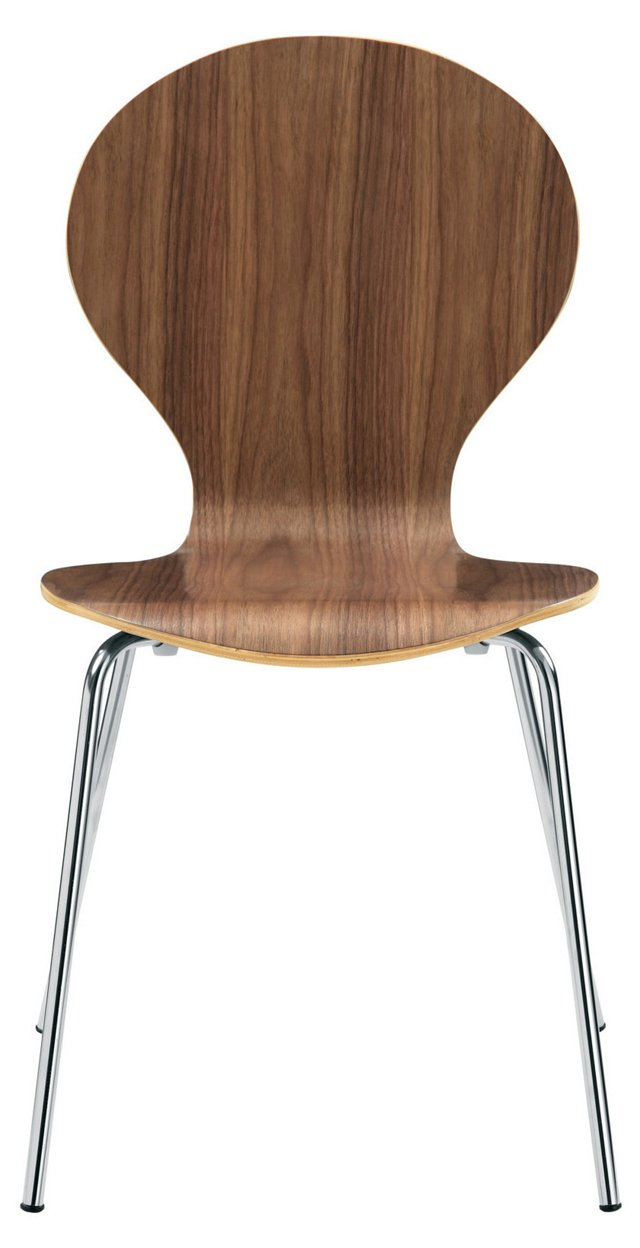 *IK Insect Chair, Glossy Walnut