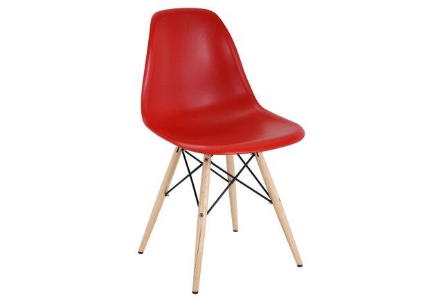 *IK Copenhagen Side Chair, Red
