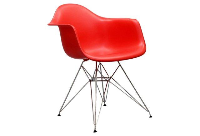 *IK Paris Wire Armchair, Red