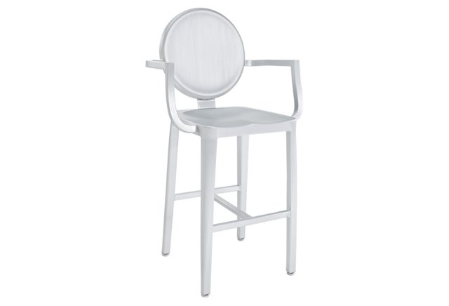 *IK Casper Aluminum Counter Stool