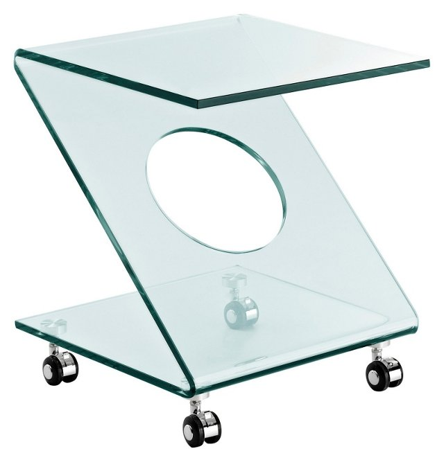 DNU Rolling Z Side Table