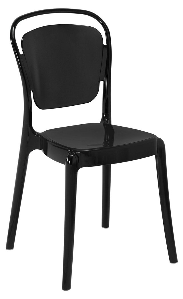 Entreat Dining Side Chair, Black