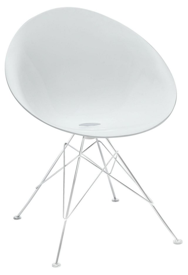 Receptivity Accent Chair, White