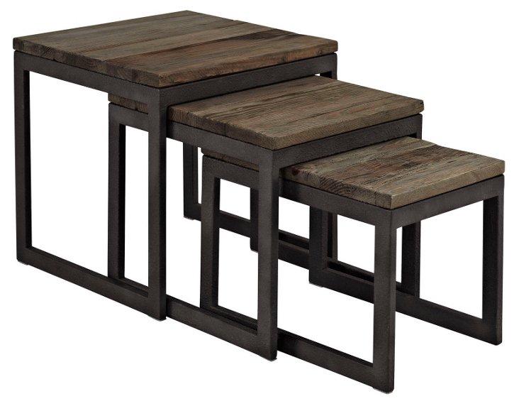 Kai Nesting Table, Brown