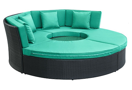 Turquoise Paul Daybed Set