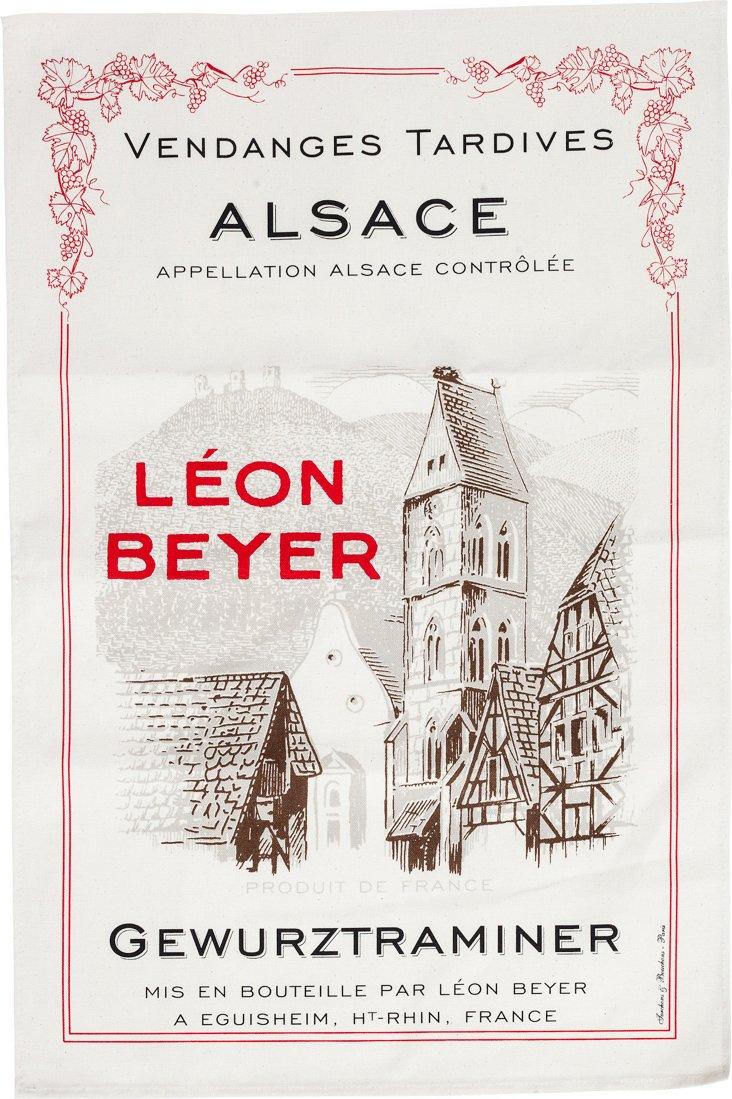 Canvas Torchon Alsace