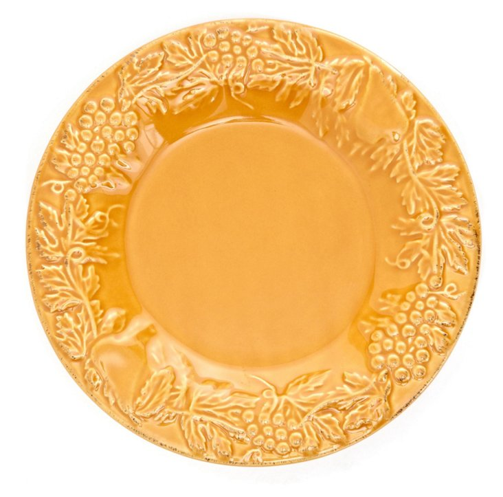 S/4 Salad Plates, Yellow