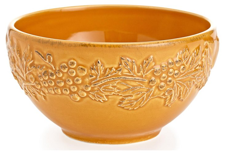 S/4 Cereal Bowls, Yellow