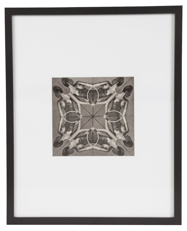 Framed Zoltán Glass Photo III
