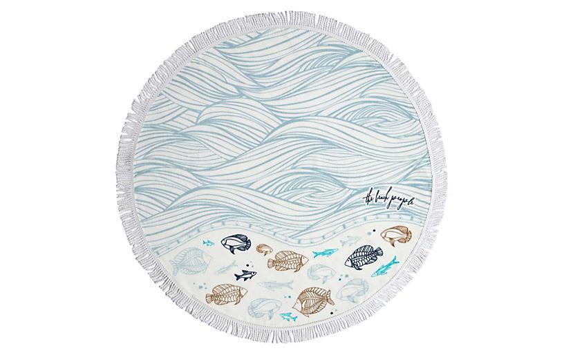 Oceanic Petite Beach Towel - The Beach People