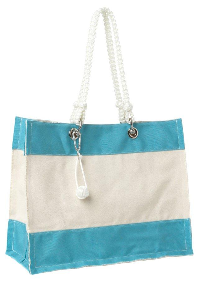 Bosun Canvas Bag, Aqua