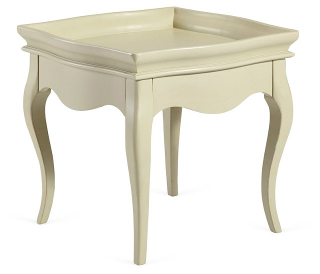 Bella Tea Table, Moss Gray