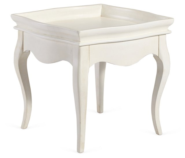 Bella Tea Table, White