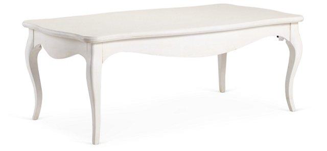Eva Coffee Table, White
