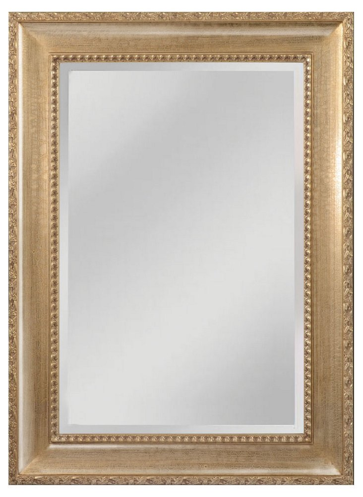 "46"" Clayton Mirror, Light Walnut"