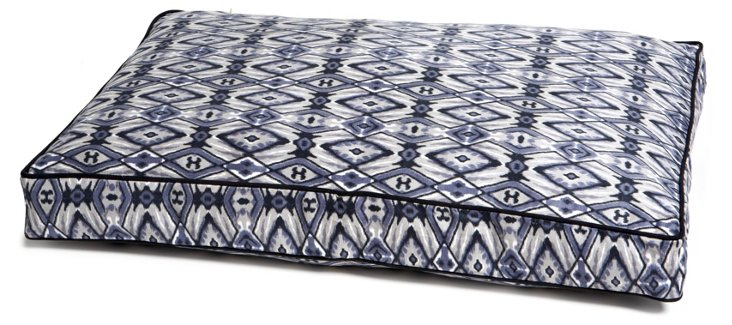 San Francisco Pet Bed, Dusty Blue/Gray