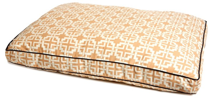 Cococabana Pet Bed, Peach/Cream