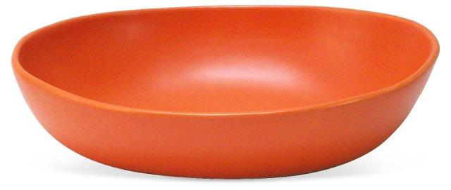 Oval Vegetable Serving Bowl