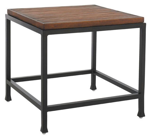 Wells Square Side Table, Sienna