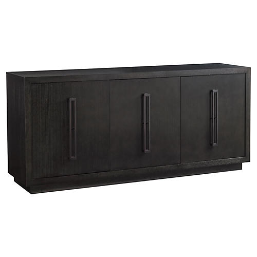 "Targa 80"" Sideboard, Carbon Gray"