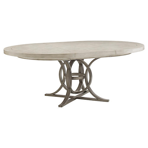 "Calerton 58"" Dining Table, Oyster"
